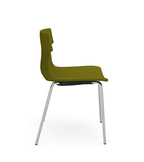 tikal upholstered side chair 4 leg idesk alan desk 4