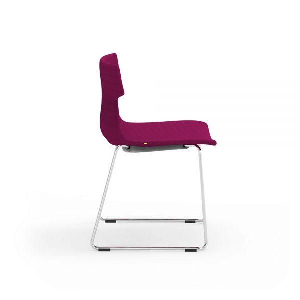tikal upholstered side chair sled idesk alan desk 4