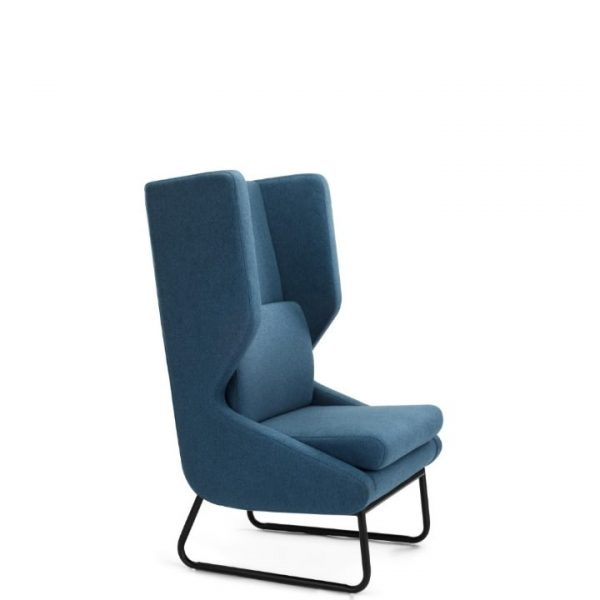 Nuans Design Wing Lounge Chair Alan Desk