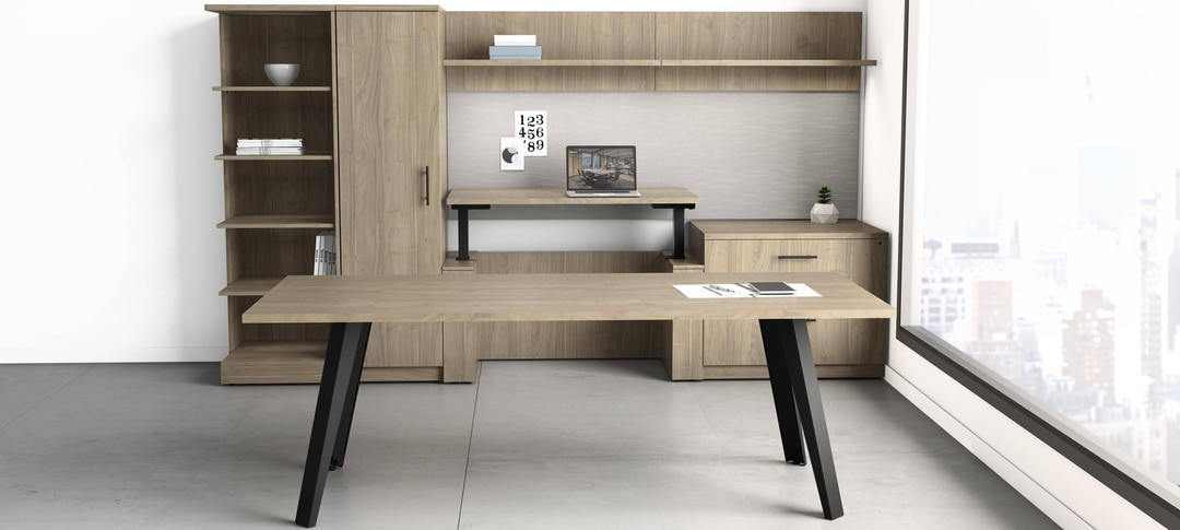 deskmakers acend office furniture collection
