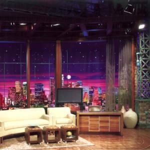 The Tonight Show with Jay Leno Set