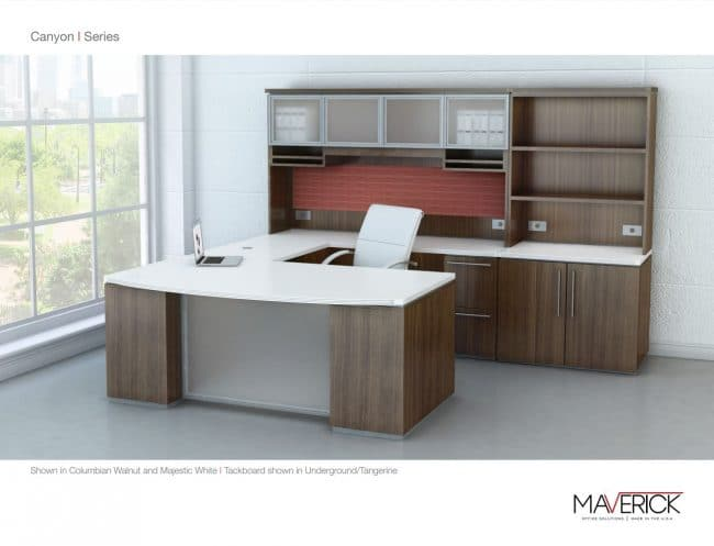 Canyon Series Desk by Maverick Desk